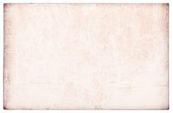 Vieux papier d'isolement Photo stock