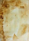 Vieux papier de cru Image libre de droits