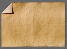 Vieux papier de cru Photos stock