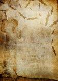 Vieux papier de Veille de la toussaint Photographie stock