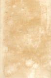 Vieux papier du 19ème siècle Image libre de droits