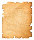 Vieux papier endommagé Photo stock