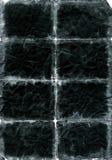 Vieux papier endommagé plissé Image stock