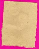Vieux papier fabriqué à la main Photographie stock libre de droits
