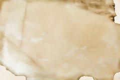 Vieux papier fabriqué à la main, texture, fond Image stock
