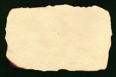 Vieux papier fait main Images libres de droits
