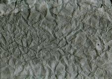 Vieux papier gris chiffonné Dessin abstrait de main images libres de droits