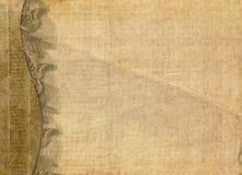 Vieux papier grunge avec le lacet illustration libre de droits