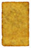 Vieux papier à lettres sale rayé Images stock