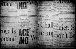 Vieux papier neuf Photos libres de droits