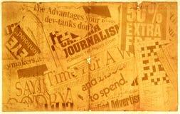 Vieux papier neuf Images libres de droits