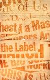 Vieux papier neuf Photo libre de droits