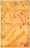 Vieux papier neuf Photographie stock