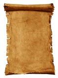 Vieux papier parcheminé Photographie stock libre de droits