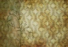 Vieux papier peint Images stock