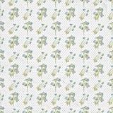 Vieux papier peint floral sans couture de modèle Images stock