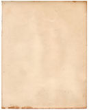 Vieux papier photographique sale Photos libres de droits