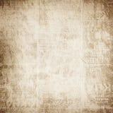 Vieux papier plié Image libre de droits