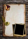 Vieux papier pour le mot. Image libre de droits