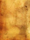 Vieux papier sale - 19ème siècle - souillé et deriorating Image libre de droits