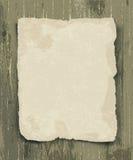 Vieux papier sur le bois illustration stock