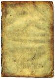 Vieux papier texturisé avec le bord décrépit (balayage). photographie stock libre de droits
