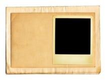 Vieux papiers (chemin de +clipping) Photographie stock libre de droits