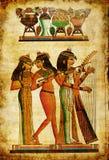 Vieux papyrus Photos libres de droits
