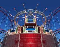 Vieux parc d'attractions Photographie stock libre de droits