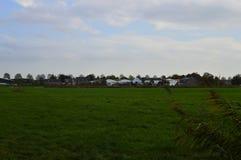 Vieux parc en dehors d'Amsterdam images stock