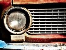 Vieux pare-chocs de véhicule images libres de droits
