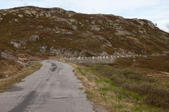 Vieux passage de montagne Photos stock