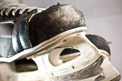 vieux patins rouillés Photos libres de droits