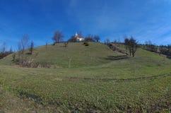 Vieux paysage de chapelle Photo libre de droits