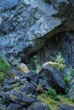 Vieux paysage de mine Image stock