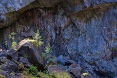 Vieux paysage de mine Image libre de droits
