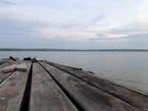 Vieux pearce, rivière des Etats-Unis image stock