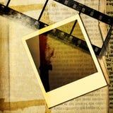 Vieux personnel de papier Photos libres de droits