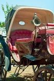 Vieux phaéton - autocar photo stock