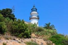 Vieux phare Photo libre de droits
