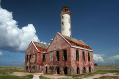 Vieux phare Photo stock