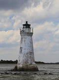 Vieux phare abandonné Images libres de droits