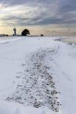 Vieux phare au cap de Neeme Images libres de droits