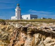 Vieux phare chez Cabo Rojo Photographie stock