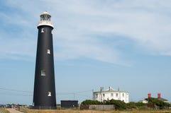 Vieux phare de Dungeness Photos stock