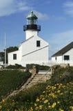 Vieux phare de Point Loma Image libre de droits