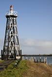Vieux phare en acier Image libre de droits