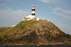 Vieux phare principal Photographie stock