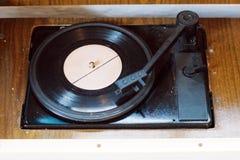 Vieux phonographe Image libre de droits