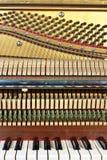 Vieux piano Photo stock